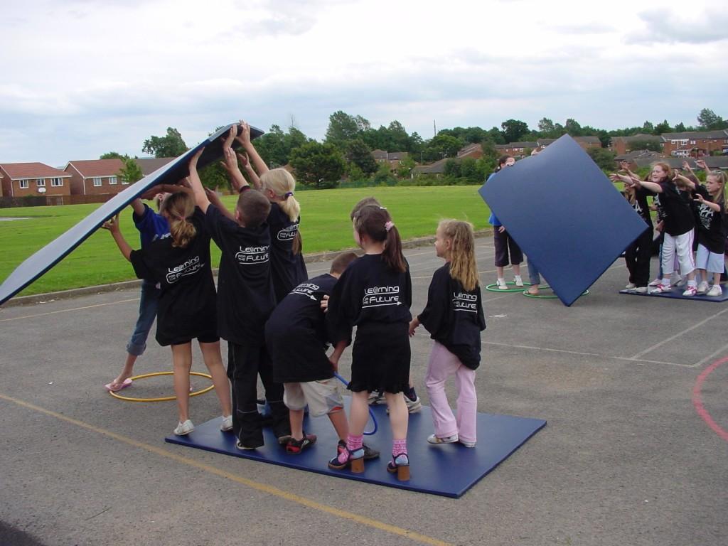 children involved in a UFA project